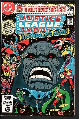 Justice League Of America #184-Darkseid Issue-Justice Society-Dc