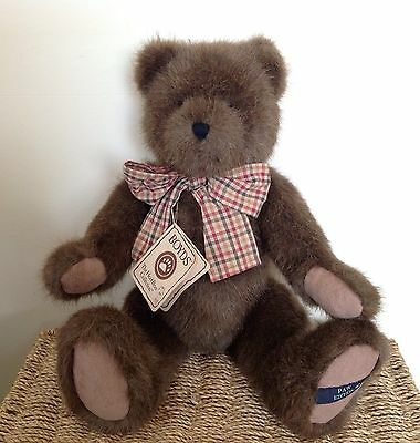 "Boyds Large 18"" Teddy Bear 'Abner Q Bearsdale' Now Retired"