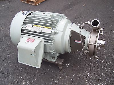 "Fristam 3"" X 2-1/2"" Stainless Steel Sanitary Centrifugal Pump 60 Hp  Fpr3552-215"