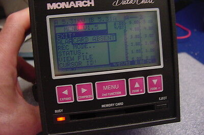 Working Monarch Data-Chart Paperless Recorder For Monitoring Electrical Signals