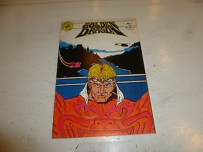 GOLDEN DRAGON Comic - Vol 1 - No 1 - Date 1987 - Synchronicity Comics