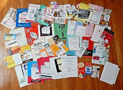 Vintage Gas Electric Ranges Refrigerators Advertising Dealer Catalog Booklets