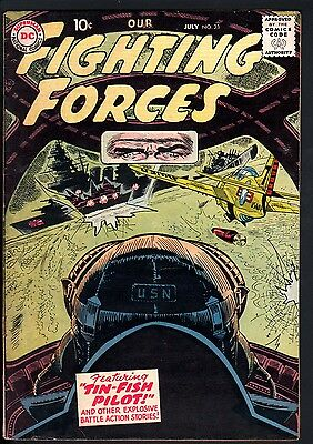 Our Fighting Forces #23 1957-Dc War Comics--Ww Ii--High Grade
