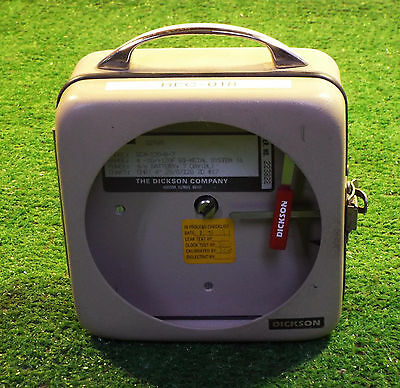 1 Used Dickson Sc4-120-B-7 Temperature Chart Recorder *** Make Offer ***
