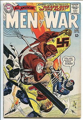 ALL-AMERICAN MEN OF WAR #108-1965-DC-NAVAJO ACE-JOHNNY CLOUD-vf minus