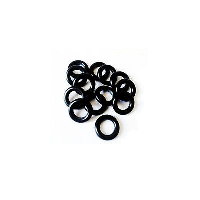 10 x NBR Nitrile Oil Resistant Butadiene Rubber 2mm O-Ring Sealing Ring 5-40mm