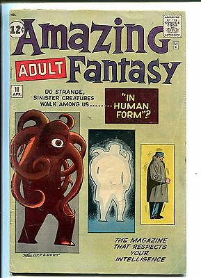AMAZING ADULT FANTASY #11 1962-DC-ALL STEVE DITKO ISSUE-vg