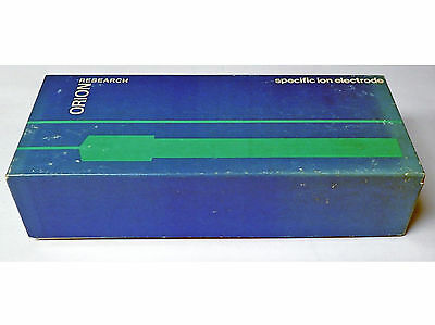 Orion Research 94-82A Lead Electrode With Instruction Manual