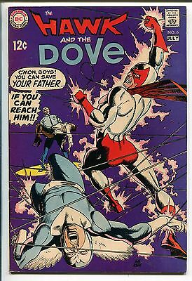 HAWK AND THE DOVE #6 1969-DC COMICS-GIL KANE-FINAL ISSUE-vf