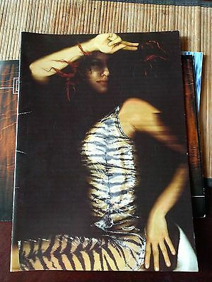 Tori Amos Plugged Tour Book Programme 1998 Songs From the Choirgirl Hotel