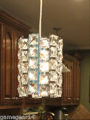 Crystal Pendant Light Fixture Chandelier Lamp For Kitchen Island Dining Room