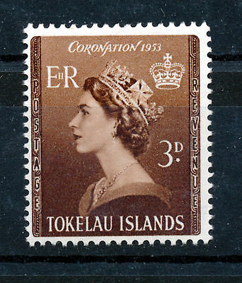 Tokelau 1953 Coronation Sg4 Block Of 4 Mnh