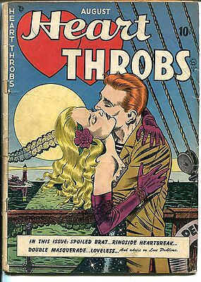 Heart Throbs #1 1949-Quality-1st issue-Bill Ward cover-lighthouse-GOOD+