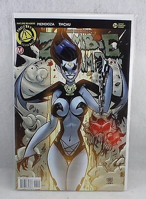 Zombie Tramp #24 Mature Trom Variant Cover Action Lab Comics