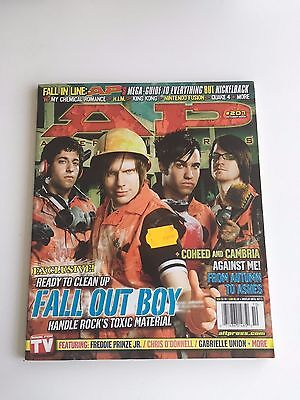 Alternative Press #207 October 2005 - Fall Out Boy, Against Me!