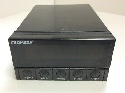 Omega DP41-U-A High Performance Panel Meter 115VAC AC 6 Digit Display 4 Outputs