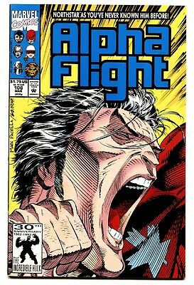 ALPHA FLIGHT #106-MARVEL Northstar-First gay character in comic books 2nd print