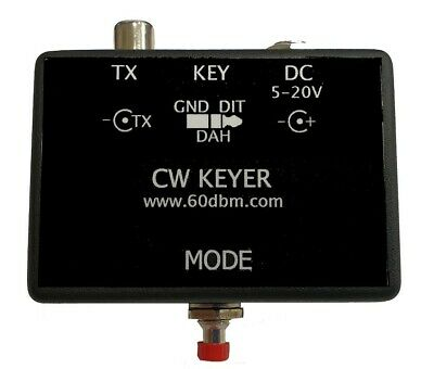 automatic CW key with memory, MORSE code keyer
