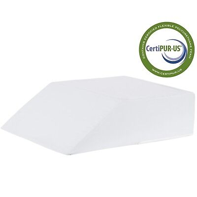 "Eva Medical Orthopedic Bed Wedge Pillow for Body and Bed Support 8"" x 20"" x 24"""