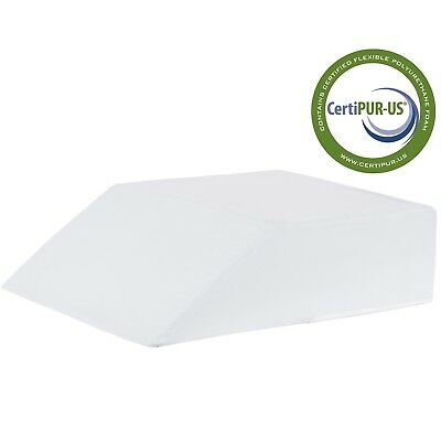 "Vaunn Medical Orthopedic Bed Wedge Pillow for Body & Bed Support 8"" x 20"" x 24"""
