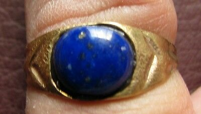 Ancient Artifact > Byzantine Bronze Finger Ring SZ: 9 US 19mm 14762 DR