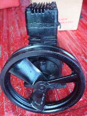 SEARS Devilbiss cast iron Heavy Duty 1 Stage 2 Cylinder 3 hp Air Compressor Pump