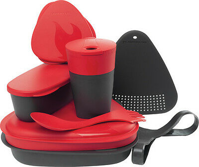 New Light My Fire Mealkit 2.0 Red Camping Gear LMF00686