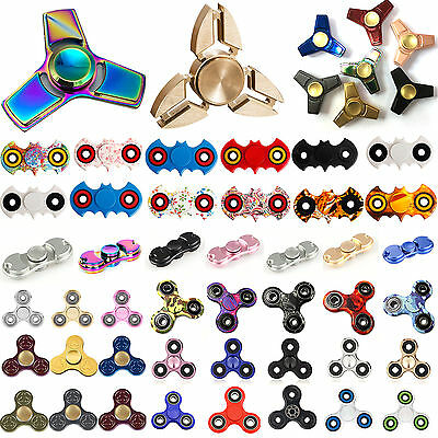 3D Fidget Toy Hand Spinner Finger EDC Focus Stress Reliever Toys For Kids Adults