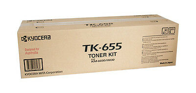 Kyocera Toner TK655 Black Genuine Toner New