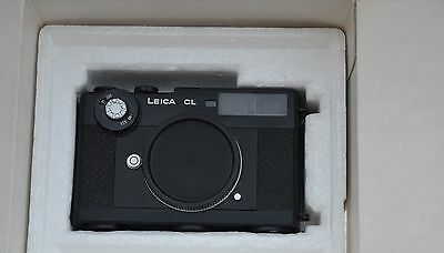 Pristine in box Leica CL w instructions & original strap