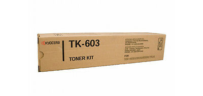 Kyocera Toner TK603 Black Genuine Toner New