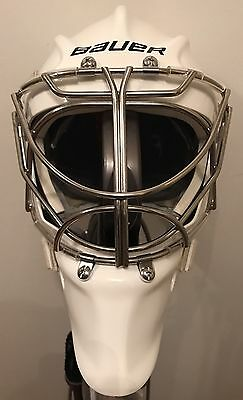Bauer Profile 950X Cat Eye Goal Mask Senior Non Certified SM/MD White  NEW