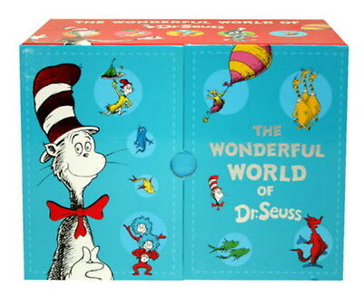 The Wonderful World of Dr. Seuss 20-Book Hardcover Box Set - NEW