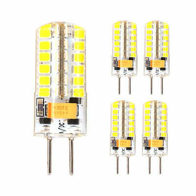 GY6.35 Silicone 5W 48 / 7W 72 SMD 2835 Led Bulbs Lamps  Energy Saving Bulb 12V