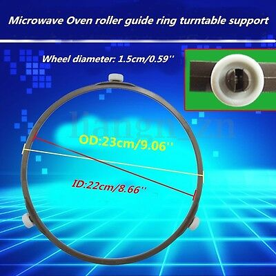 1Pc Microwave Oven Roller Guide Ring Turntable Support Plate Rotating OD:23cm