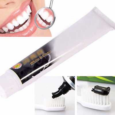 Bamboo Charcoal Teeth Whitening Clean Black Toothpaste Zahnpasta Dental 100g #G1