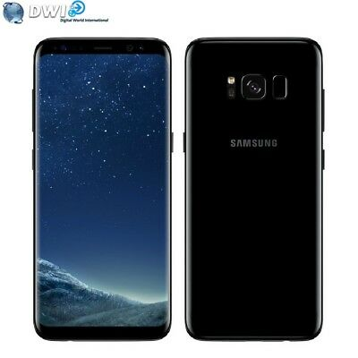 Neuf Samsung Galaxy S8 Plus G955Fd 64Gb Dual Sim 4G Lte Noir Midnight Black