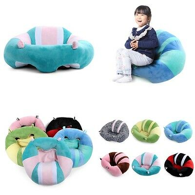 Kids Children Soft Floor Chair Toddlers Armchair Seat Nursery Baby Sofa Bean Bag