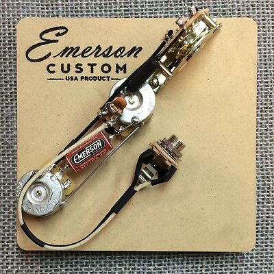 Emerson Custom Prewired Kit E3 250k Reverse Control fits to Esquire ®