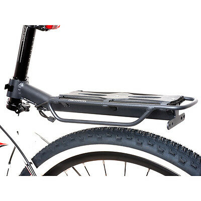 Author Bicycle pannier rack ACR-160 Aluminum for seatpost up to 10Kg black