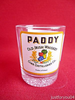 Paddy Old Irish Whiskey Shot Glass