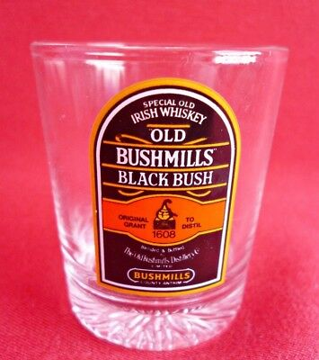 Old Bushmills Irish Whiskey Shot Glass