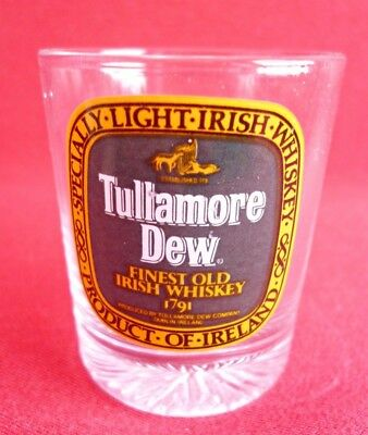 Tullamore Dew Irish Whiskey Shot Glass