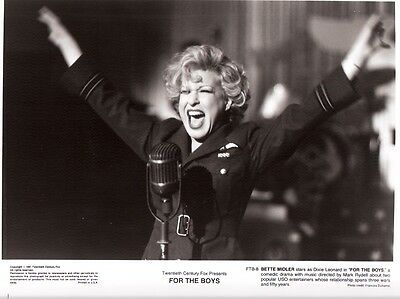 For The Boys-1991-Bette Midler-8X10 Nm
