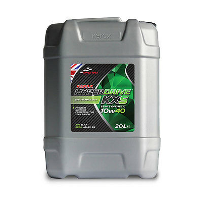 10w40 Semi Synthetic Engine Oil 20 Litres Petrol & Diesel OE Spec Next Day 24hr