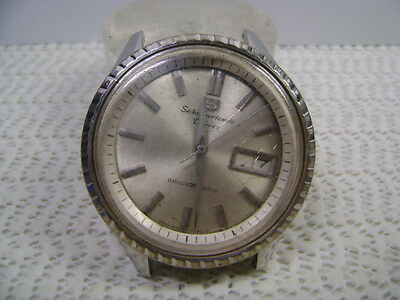 Vintage 7619-7050 Sportsmatic Deluxe Automatic Watch For Parts Or Project Watch
