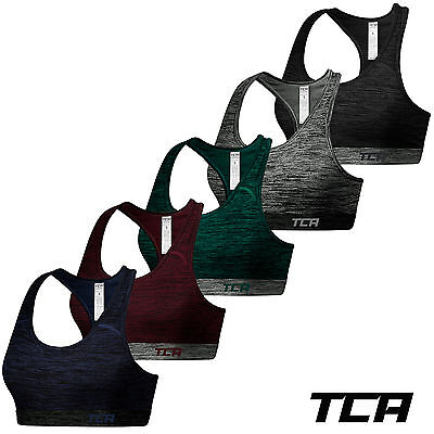 TCA Women's Natural Performance Sports Bra / Yoga Gym Fitness Crop Top