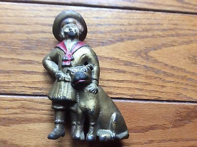 Antique Buster Brown & Tige Still Coin Bank A.C. Williams?