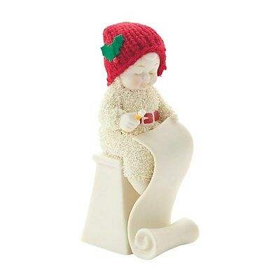 Snowbabies 4037316 Making the List Figurine  in Gift Box  23206