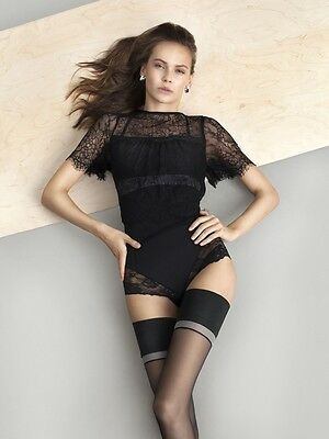 Fiore The Girl DIVINE Thigh High Hold Up Stockings Nylons Hosiery